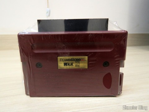 PowerBase Mini FM, ainda embalado