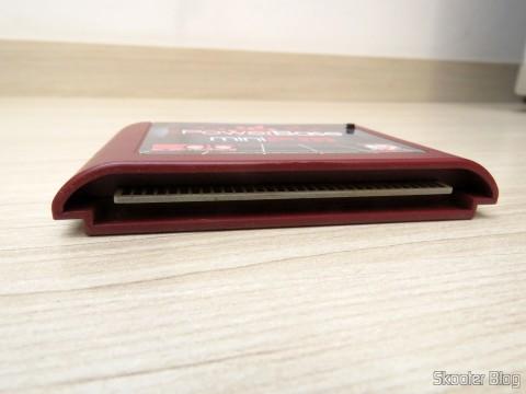 Parte inferior do PowerBase Mini FM, para conectar no Mega Drive