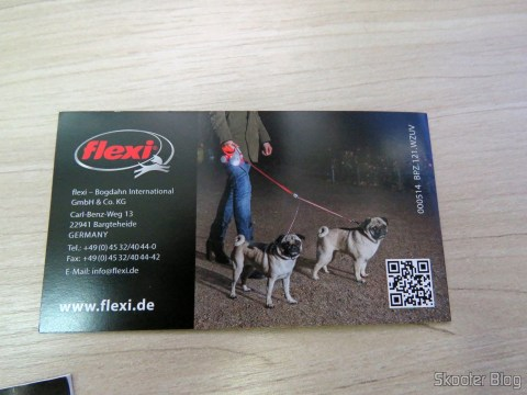 Retractable guide booklet with accessories ribbon for Dogs Flexi Vario M - 25 Kg - German original