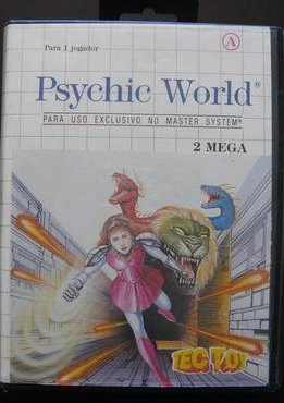 Psychic World, Cover Tec Toy