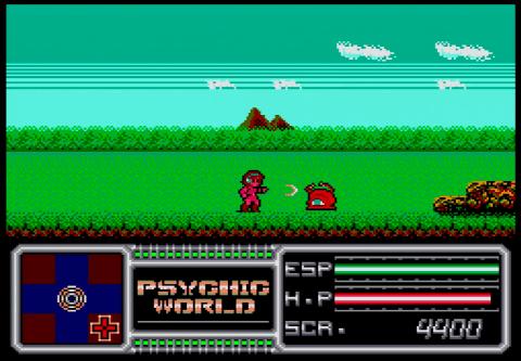 Psychic World - Master System