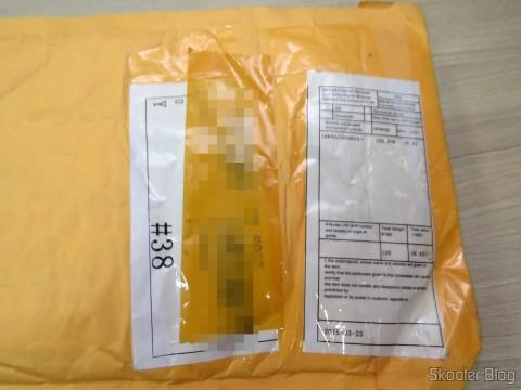 Pacote da DX com 4 Pilhas Recarregáveis AA NiMH 1.2V 1900mAh Sanyo Eneloop Genuínas