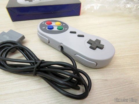 Wired Classic Controller for Super Nintendo SNES and Retro-Tech Duo TX