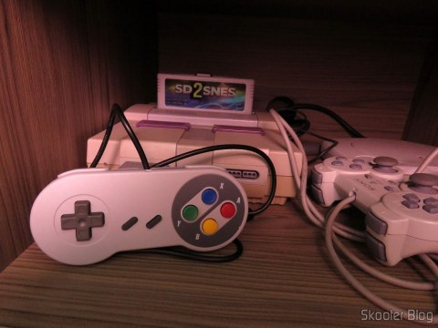 Wired Classic Controller for Super Nintendo SNES and Retro-Tech Duo TX and my Super Nintendo