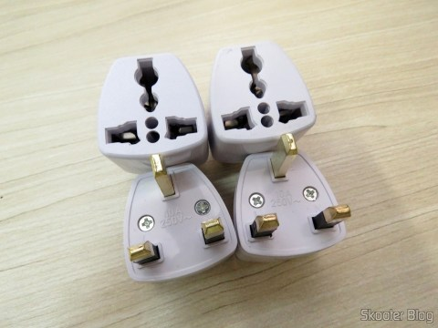 Universal adapters for UK and Ireland Taken