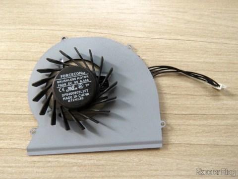 Ventilador de Refrigeração para Dell Latitude E6220 - Forcecon DFS400805L10T FAA6