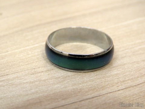 Mood ring (Mood Ring) with 12 Color Variables for Silver Emotions