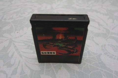 Genus cartridge with games for Atari 2600