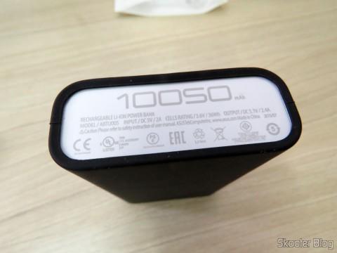 ASUS ZenPower 10050 mAh em seu bumper