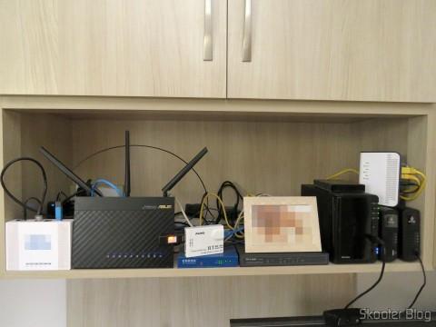 Os equipamentos que compõe a rede