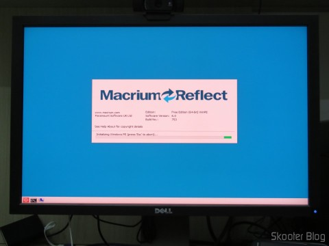 Restoring the old SSD data with Macrium Reflect