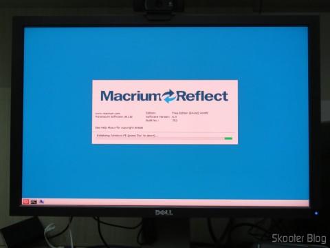 Restaurando os dados do antigo SSD com o Macrium Reflect