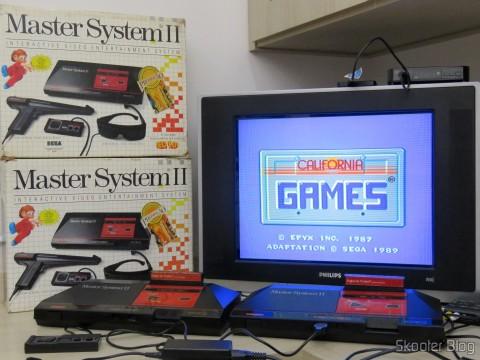 Master System II da Tec Toy - Promotion Summer Games