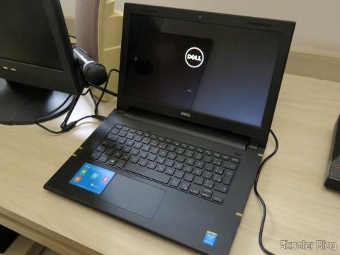 "Notebook Dell Inspiron I14-3442-B10 com Intel® Core™ i3-4005U, 4GB, 1TB, DVD engraver, Card Reader, HDMI, Bluetooth, LED 14"" e Windows 8.1"