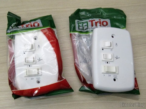 Capacitive keys to the brand Ceiling fan Electronic Trio