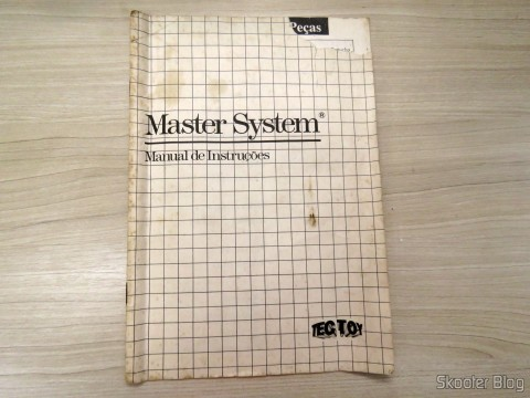 Manual do Master System IIManual do Alex Kidd in Miracle World