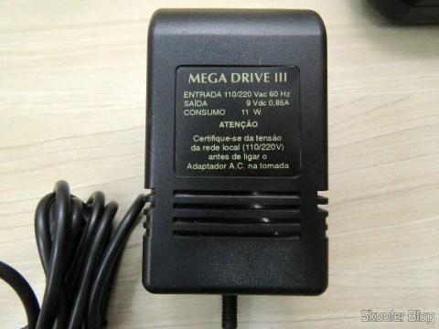 A Fonte de Alimentação do Mega Drive III da Tec Toy