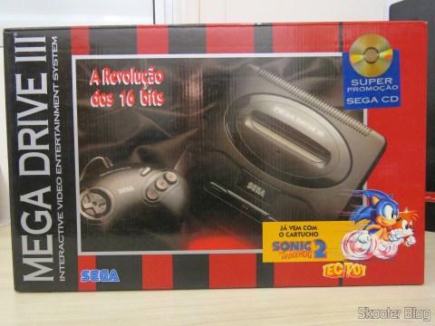 A caixa do Mega Drive III da Tec Toy