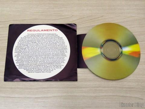Folheto de Promoção, vigente na época da aquisição do Mega Drive III da Tec Toy