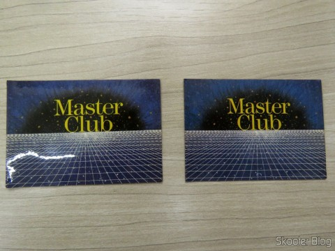 Master Club Membership Card