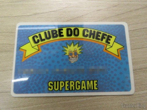 Club card of the Head of Super Game