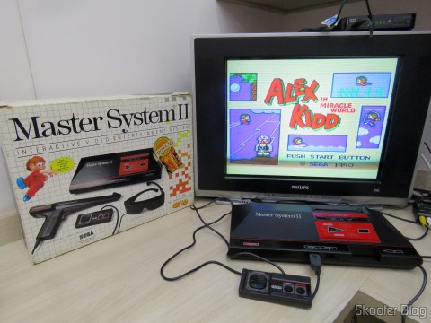 Master System II, Alex Kidd in Miracle World da memória