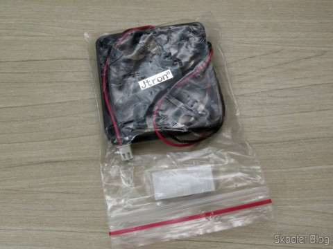 Jtron DC 5V / 0.15A Cooling Fan - Black, on its packaging