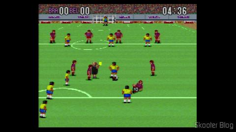 Super Soccer - Super Nintendo: Cartão Amarelo