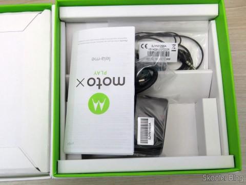 Acessórios do Motorola Moto X Play de 32GB