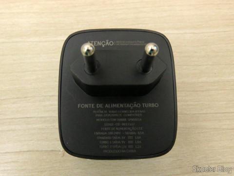 Carregador do Motorola Moto X Play de 32GB