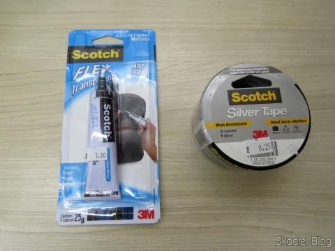 Adesivo Flexível Multiuso Scotch Flex Transparente e Silver Tape Scotch: Fita Adesiva para Reparos e Manutenções em Geral