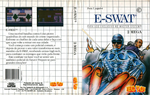 Cover of ESWAT - Master System