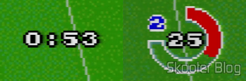 Timer of the Goal! on the left and the Super Cup Soccer, right
