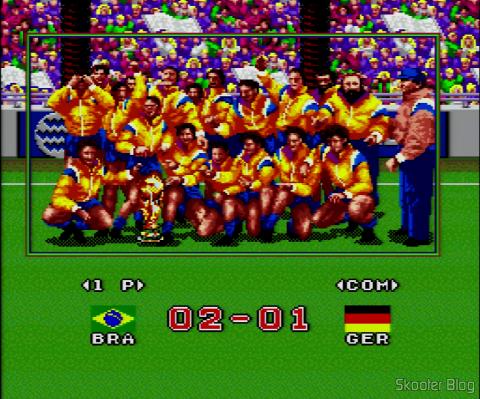 Goal! - Foto do Time Campeão