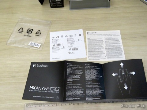 Manual and other brochures Logitech MX Anywhere Mouse 2