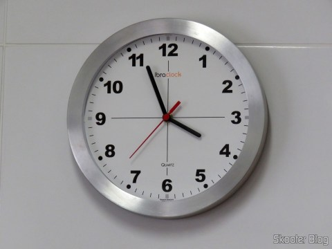 Ibraclock wall clock with Quartz Watch 13 mm machine with handle and shaft - Uniart already installed