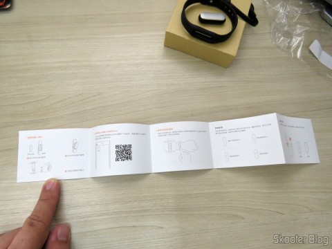 Instructions for the Smart Bracelet Xiaomi Mi Band 1S