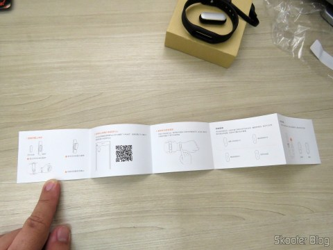 Instructions for the Smart Bracelet Xiaomi Mi Band 1S