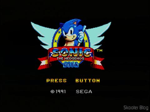 Abertura do Sonic The Hedgehog do Master System