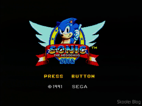 Abertura do Sonic The Hedgehog do Master System