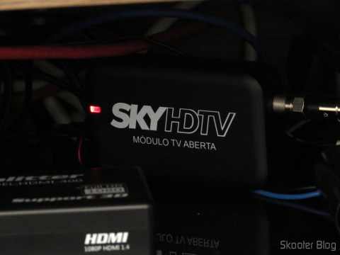 Módulo de TV Aberta Sky HDTV SIM25 (S-IM25-700), já instalado