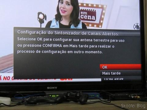 SHR23 decoder detects the TV Module Open Sky HDTV SIM25 (S-IM25-700)
