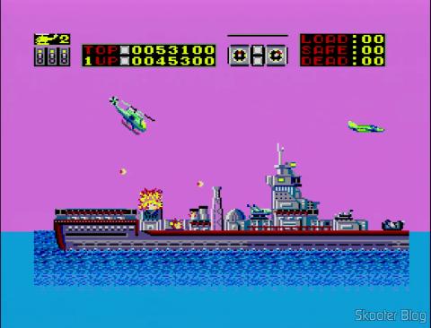 Choplifter - Master System