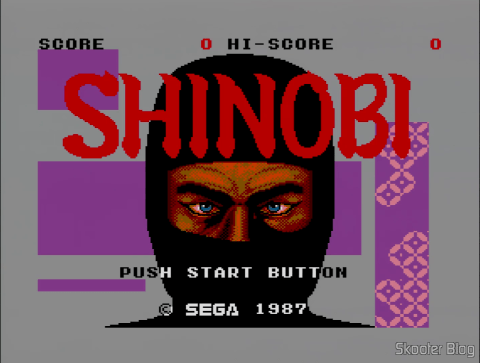 Abertura do Shinobi - Master System