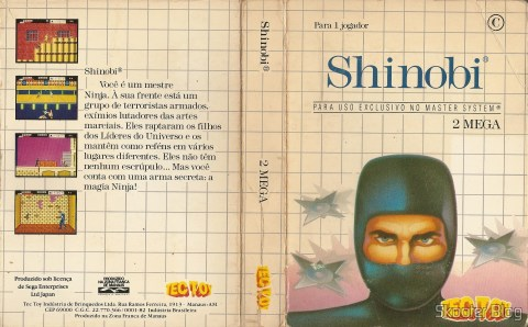 Cover of Tec Toy for the Shinobi