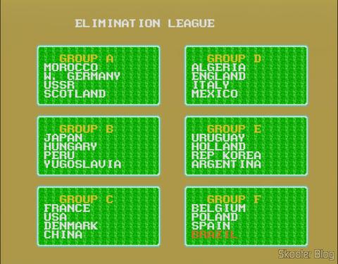 As seleções presentes no Super Futebol são Estados Unidos, México, Peru, Brasil, Argentina, Uruguai, Marrocos, Argélia, Inglaterra, Escócia, Itália, França, Espanha, Holanda, Dinamarca, Bélgica, Hungria, Iugoslávia, Polônia, União Soviética, Alemanha Ocidental, China, Japão e Coréia do Sul.