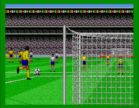 Collection of Super Soccer goal kick