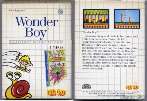 Cover of Tec Toy to the Wonder Boy