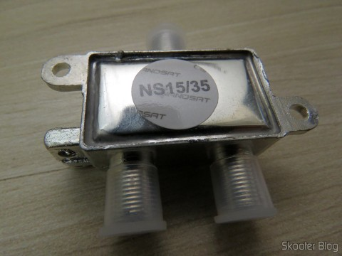Diplexer VHF/UHF/SAT Nanosat