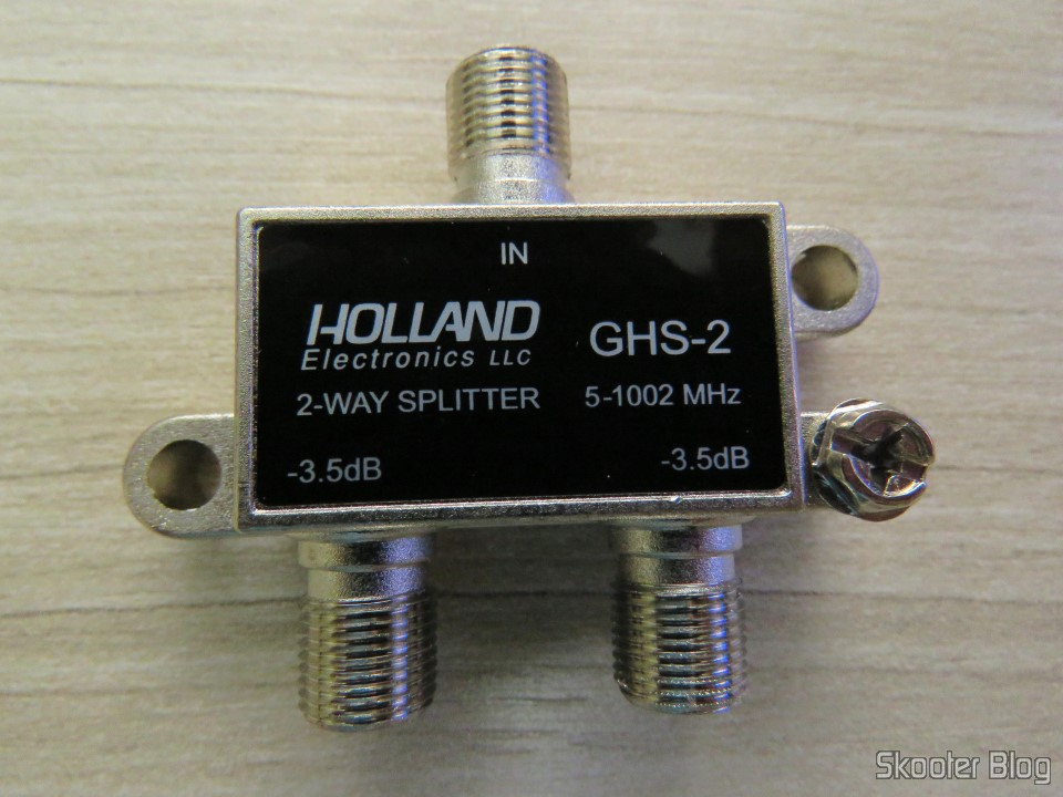 Holland GHS-2 splitter - VHF, UHF and cable TV